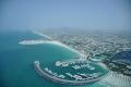 Dubai: Die Welle vom 27. Stockwerk des Burj al Arab aus gesehen