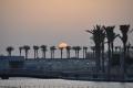 Dubai: Abendstimmung