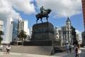 Montevideo: Statue von Jose Artigas