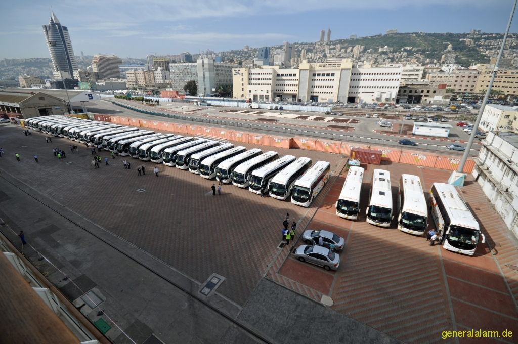 Haifa: Ausflugsbusse nach Jerusalem