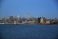 New York: Abendliches Auslaufen aus dem Hafen