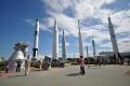 Port Canaveral: Raketengarten im Kennedy Space Center