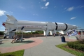 Port Canaveral: Raketengarten im Kennedy Space Center