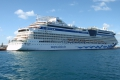AIDAluna auf den Bermudas