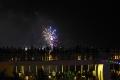 Silvesterfeuerwerk an Neujahr