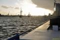 Barkassenfahrt im Hamburger Hafen