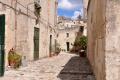 Bari: Gasse in Matera