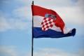 Dubrovnik: Fahne von Kroatien