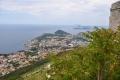 Dubrovnik: Ausblick von der Bergstation der Seilbahn