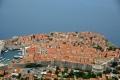 Dubrovnik: Ausblick von der Bergstation der Seilbahnauf die Altstadt