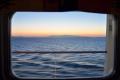 Sonnenaufgang in der Meerblickkabine