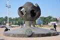 Odessa: Skulptur Das goldene Kind