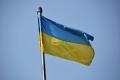 Odessa: Ukrainische Flagge
