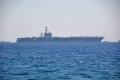 USS Eisenhower vor Rhodos