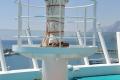 AIDAaura · Mast auf dem FKK-Deck