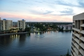 Hilton Miami Airport: Blick vom Balkon