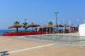 Civitavecchia: Strandpromenade