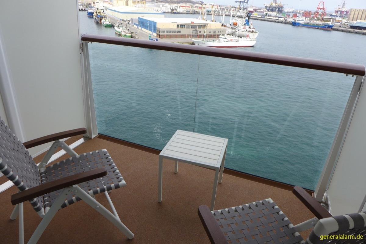 Mein Schiff 4 · Kabine 11019 (Spa Balkon) › AIDA und Mein