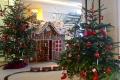 MS Europa 2: Weihnachtsdeko