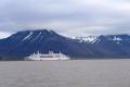 MS Deutschland in Spitzbergen