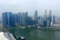 Singapur: Ausblick vom Marina Bay Sands Hotel