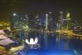 Singapur: Blick vom Singapore Flyer