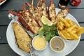 Lobsteressen in Swakopmund