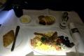Frühstück kurz vor Frankfurt