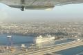 Im Landeanflug auf AIDAmira