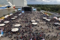 Festivalgelände von oben
