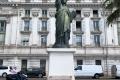 Modell der Freiheitsstatue in Nizza