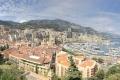 Panoramablick vom Fürstenpalast in  Monaco