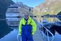 Harald vor der Bootsfahrt