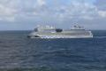 AIDAmar auf der Nordsee