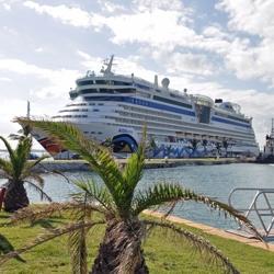 AIDAluna in der Karibik