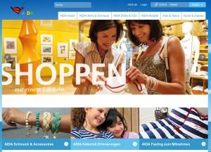 AIDA-Onlineshop