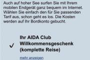 "AIDA-Club: Was bringt der neue Clubstatus ""Gold""?"