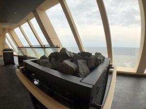 Saunabereich auf MS 1