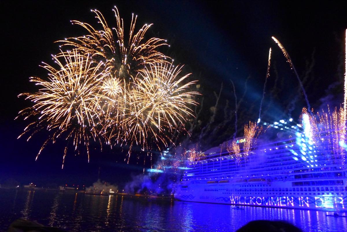 Taufe Der Aidanova Aida Und Mein Schiff Reiseberichte