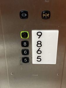 Aufzug auf Deck 5,6,8,9