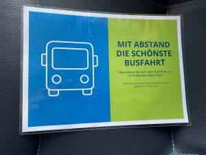 Schild Bus