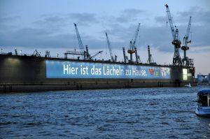 AIDA in Hamburg