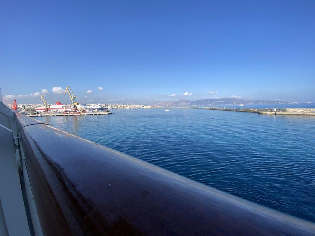 Hafeneinfahrt in Heraklion