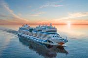 """30.07.2021 · AIDA Cruises · """"Leinen los!"""" für AIDAmar in Hamburg [Pressemeldung]"""
