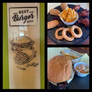 Best Burger @ Sea