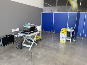 PCR-Test im Terminal