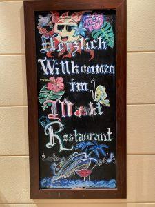 Willkommen im Marktrestaurant