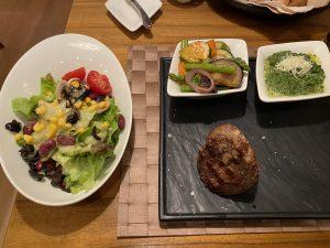 Essen im Buffalo Steak House